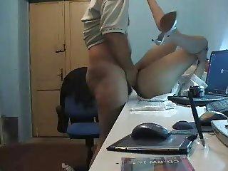 Scopo segretaria sulla scrivania