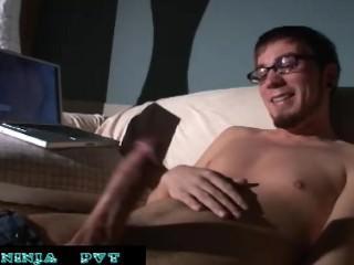Straight Pornstar Dane Cross Solo