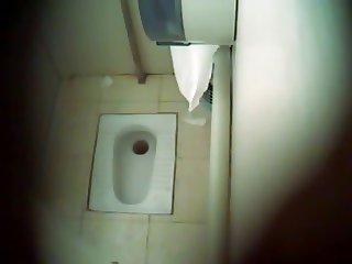 Desi Indian Toilet Hidden Cam In Air Port