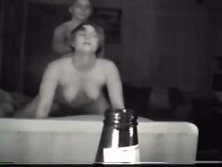 Dorm sextape/ cums2x horny drunk girl pubnite