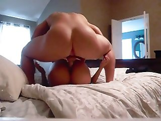 Muscle stud getting some pussy. What a view.