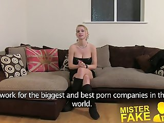 MisterFake Filthy hot euro girl in anal casting