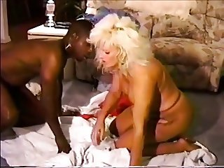 Black Cock Whore in Bondage