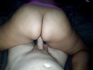 Big Booty Latina Riding