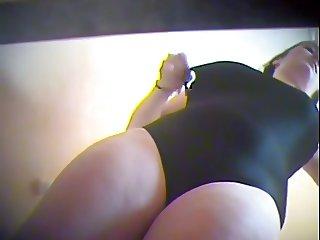 Big tits changing in swimming pool locker room