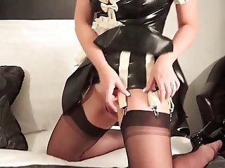 Redhead British MILF Maid