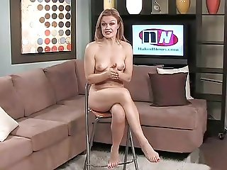 Naked News - Roxanne West
