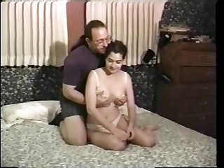 lesbo & hetero orgy for young girl in old ed set