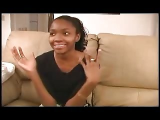 Cute Ebony Teen - Anal Casting