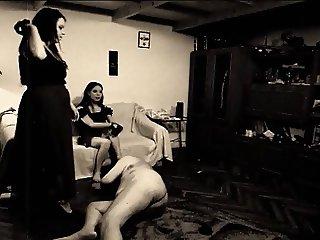 Retro house slave traning