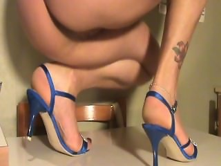 Feet mature shoes sexy my wife