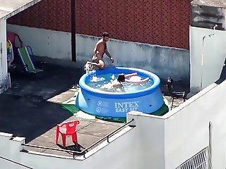 chubby pool