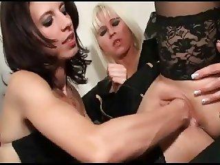 Lesbian Fisting Bizarre by Cezar73