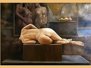 Beautiful woman - Erotic art-2