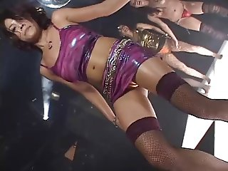 japan girl daiya disco gogo boobs solo dance