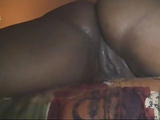 ebony bbw squirt on my dick