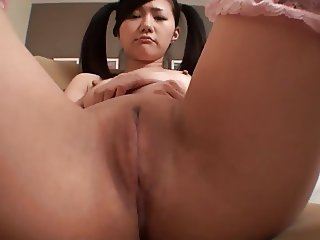 Ain't She Sweet - Pigtail Japanese Teen Dildo