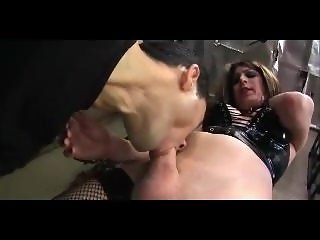 crossdresser fucked bareback dungeon