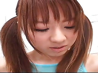 MANO Shiori in the bath room