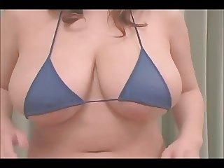 Beautiful Asian girl in bikini