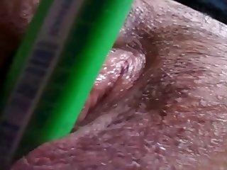 slut secretaries masturbates in the office with a marker