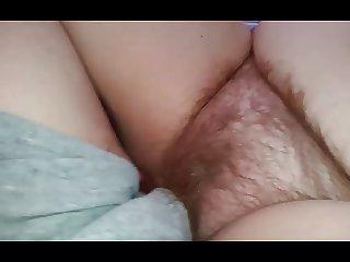 fucking my bbw wifes sexy hairy pussy