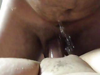 Mature BBW POV squirt