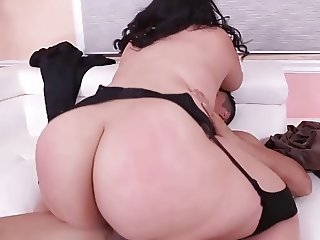 Wild Big Beautiful Woman riding a cock