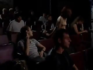 Public Fuck in Cinema