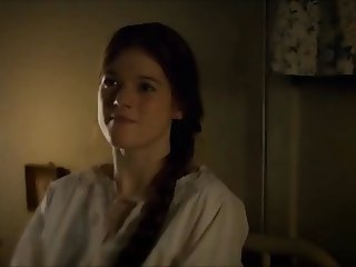 03.04 - Cum Tribute on Rose Leslie