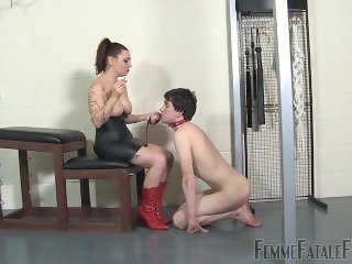Another Lucky Whipping slave 3/25