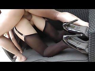 german maid heels anal creampie