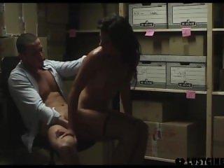 LUST CINEMA Stunning Latina babe fucked at the office