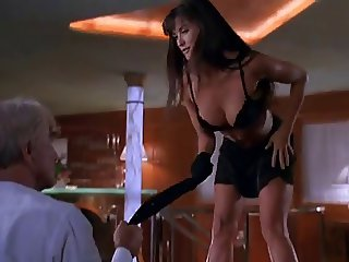 Demi Moore Sexy Private Yacht Sexy Striptease