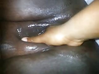 Black BBW Big Clit Squirting