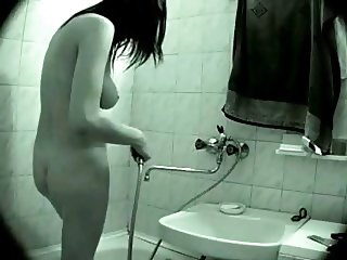 Sexy Girl Caught In Shower
