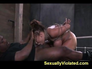 DP with extreme deep throating bdsm 1