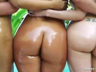 Bridgette, Kelly, and Phoenix amazing asses