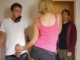 Girls rubbing cock secretly GRCS clip 003