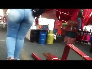 Culazo en jeans