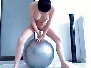 Bouncing Ball Squirting Orgasm