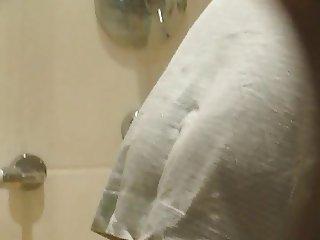 Hairy MILF called Ester in my Bathroom