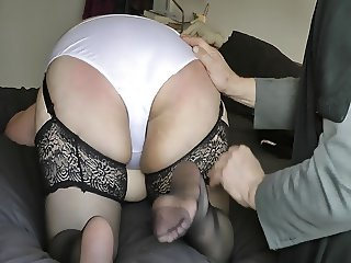Spanked and Knickers Ripped Off