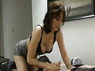 Mature Woman Jerks Young Boy's Dick-dadi