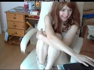 Hot Redhead British Teen
