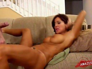 Sexy Hausfrau romantic sex