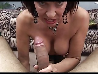 Hot Mature Cougar Sexy Blow Job