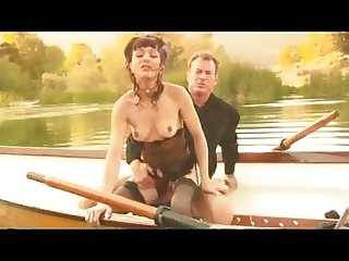 Cytherea with black stockings fucks on a boat (squirt)