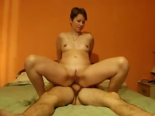 Russian wife Alina Anal and facial