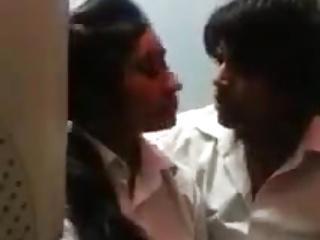 Couple kissing passionately
